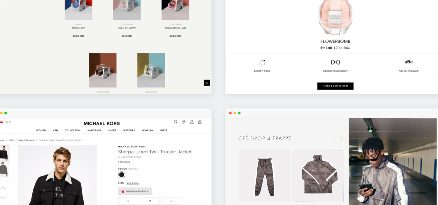 Change the design of your eCommerce website  in accordance with the latest trends